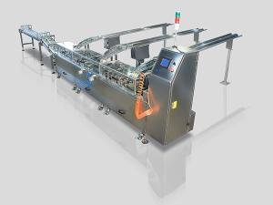 Double Lane Triple Double Biscuit Sandwiching Machine